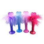 SSPA-64L Heart  Light-up Feather Pen