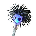 SSPLE-75L TPR strike-a-light Skull
