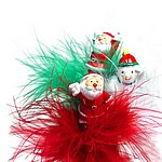 SSPYD-11 XMAS Feather Pen w printed barrel